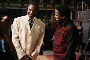 Delivered! Mr Dickson With TB Joshua