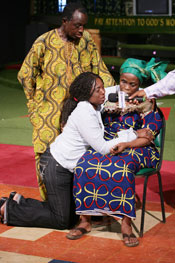 Ngozi begs for forgiveness from her mother.... reconciled in Jesus' Name.
