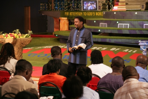 TB Joshua Preaches The Word of God - The Word that heals, delivers, saves and makes whole
