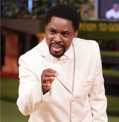 Prophet TB Joshua at 46