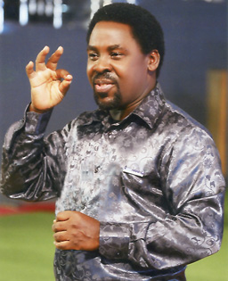 """I have tasted what it takes to be humiliated and poor and also what it takes to be honoured and have more than enough."" - TB Joshua"