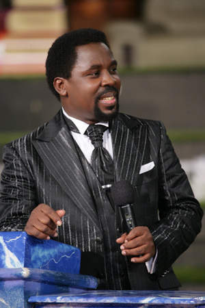 TB Joshua - If you are not a graduate of persecution or intimidation, you may not be able to maintain the power or glory