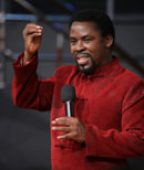 """""""If not for the grace of God, I would be like any other man on the street..."""" TB Joshua"""