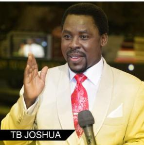 TB Joshua will turn 46 on June 12th 2009