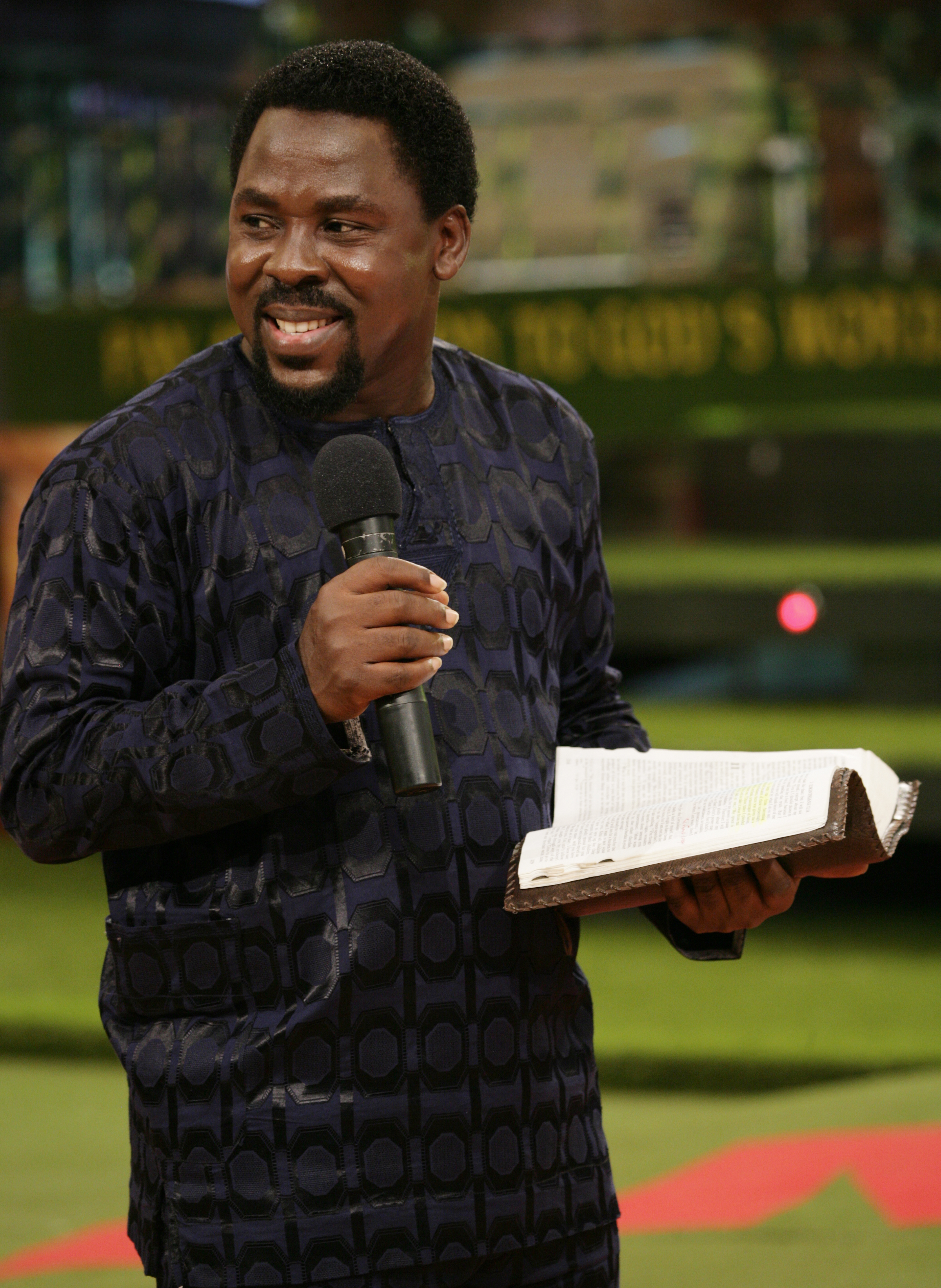 Prophet TB Joshua - In the University of God, however brilliant you may be, you will not be given double promotion - you must take every course because each course serves a purpose.