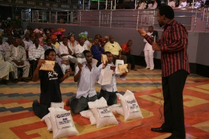 They received N300,000 to start a new life in Christ Jesus!