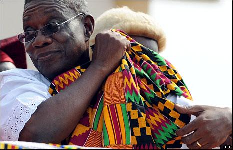 John Atta Mills, the President of Ghana