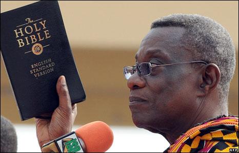 John Atta Mills, making God's Word the standard - mentored by Prophet TB Joshua