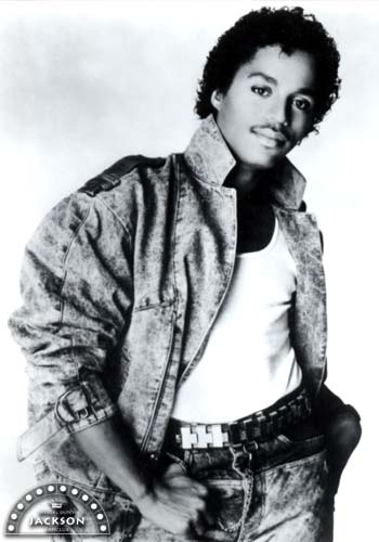 Marlon Jackson - in his younger days...