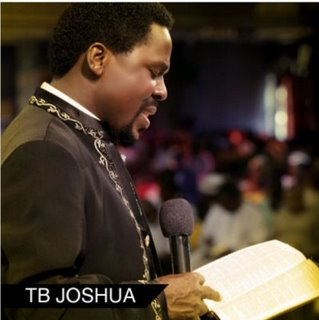 TB Joshua Sends Pastor Chris' Member To School - The Synagogue