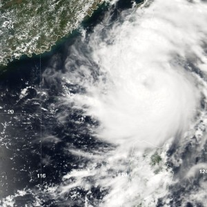 Typhoon Morakot - Hit Taiwan on Friday 7th August