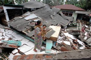 Indonesia is known for devastating quakes...
