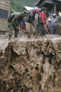 Rescue Operations amid the fatal landslides...