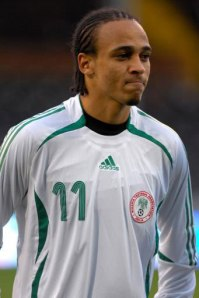 Osase Odemwingie - scored first for the Super Eagles