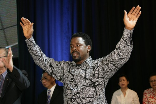 Prophet TB Joshua - when you know where you belong, nothing can overwhelm you, provoke you or discourage you.