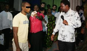 TB Joshua With Olisemeka