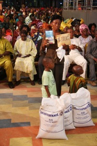 N200,000 and 3 Bags of rice - Giving offers us the opportunity to reshape our destiny