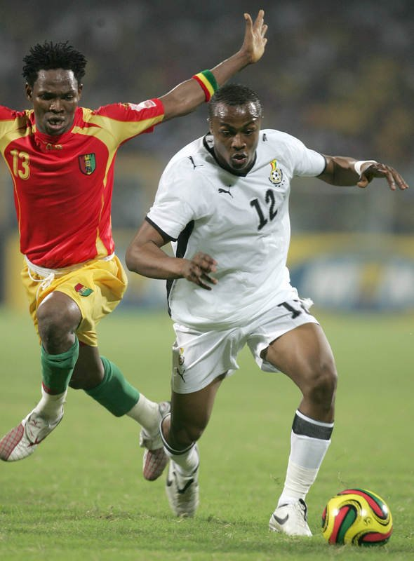 Andre Ayew - the player TB Joshua told Coach Tetteh should be the one to take the first penalty...