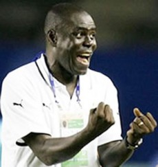 Coach Sellas Tetteh - Guided the Black Satellites to historic victory