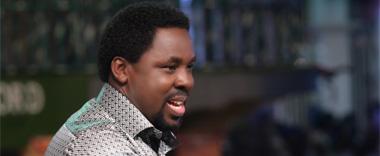 Whatever you become in life, it is God's promise to make you one with a difference - TB Joshua