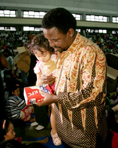 We make a living by what we get; we make a life by what we give - TB Joshua