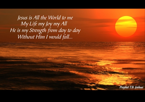 Sunset With Scripture