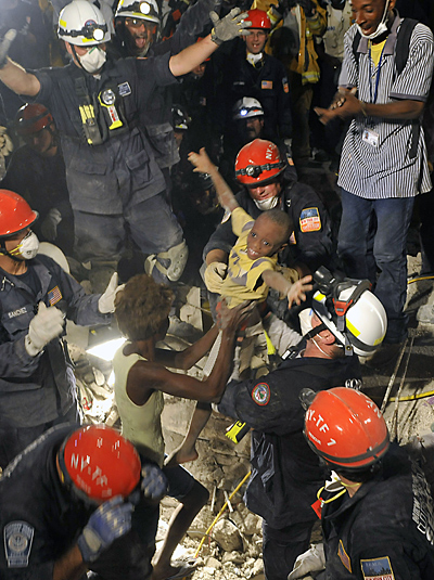 Haiti Earthquake Rescue