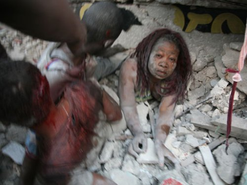 Iconic Haiti Earthquake Picture