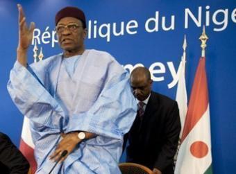 President Mamadou Tandja