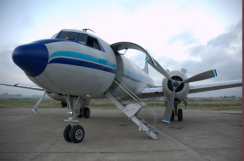 Cargo Plane, Aid For Haiti
