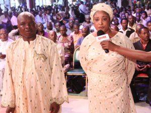 Mr and Mrs Kolawole