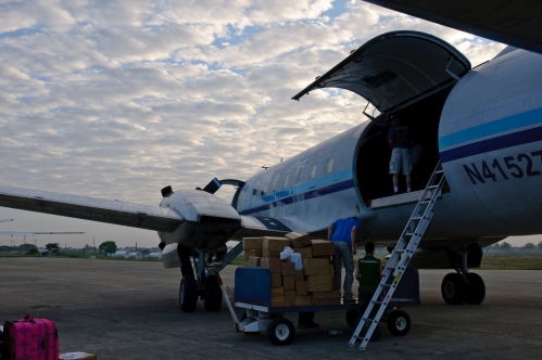 Emmanuel TV Cargo Plane