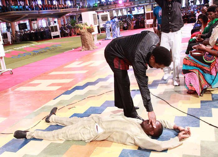TB Joshua Prays For Me Anthony Urhie