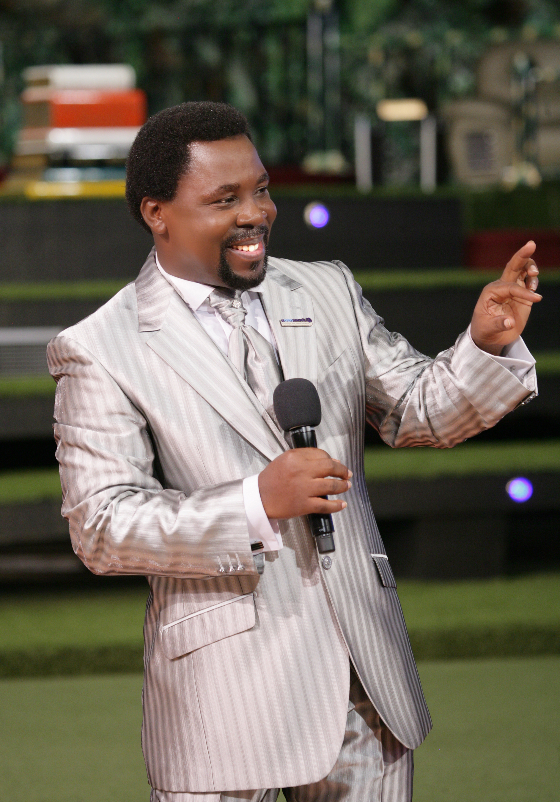 TB Joshua Biography - 'Everything Big Starts Little' - The Synagogue