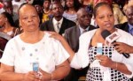 Mrs Tebogo and mother