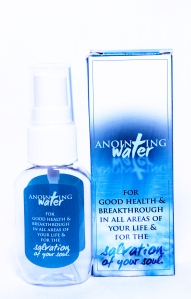 The Anointing Water