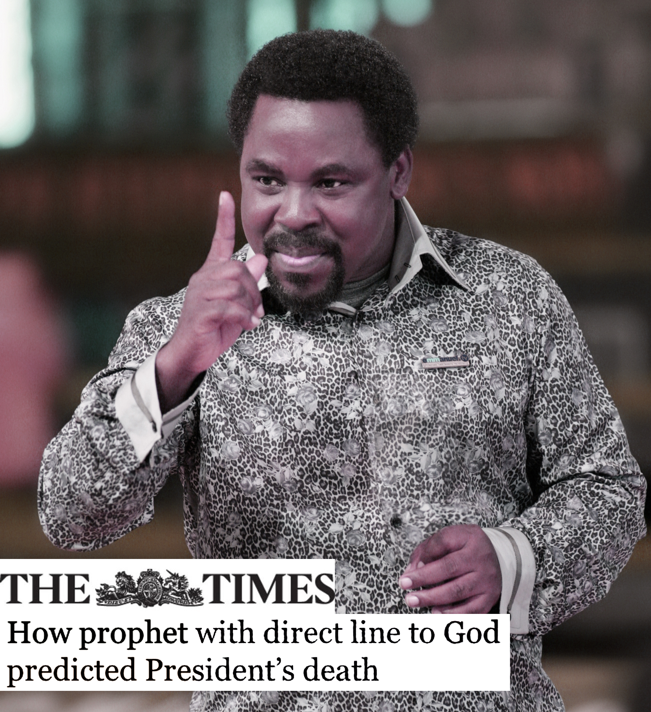HOW PROPHET WITH DIRECT LINE TO GOD PREDICTED PRESIDENTS DEATH - The