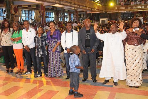 MRS NGOZI & FAMILY