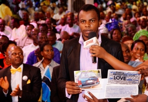 MR. ANAKPE {CAR OWNER THROUGH ANOINTING STICKERS}