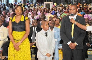 MR & MRS BEN EMENARI & SON - PROPHECY- THERE IS A CONTROVERSY OVER A CHILD