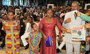 BARR. KWABLA SENANU & FAMILY