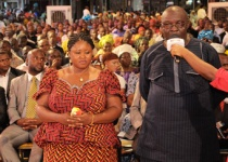 Honourable Benjamin Ubitogwale & Wife