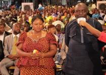 Honourable Benjamin Ubitogwale & Wife