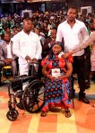 MRS HOPE OKEKE [ WHEEL CHAIR LADY]