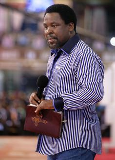 PROPHET T B JOSHUA