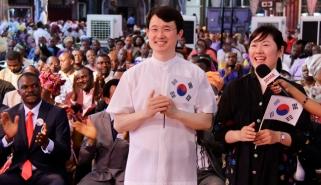 PASTOR & MRS. KIM JEONG SHOO