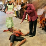 ADEOLA KESHINRO        AT THE PRAYER-LINE