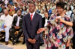 ANTHONY OCHIENG & MOTHER
