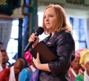 Evangelist Catherine - SCOAN