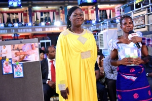 MRS EDOKA SOLOMON HEALED OF ARM ULCER